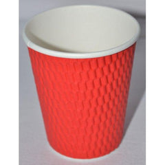 8oz Beta Grip Hot Cups - Red (25 pack)