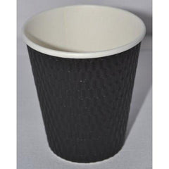 12oz Beta Grip Hot Cups - Black (25 pack)