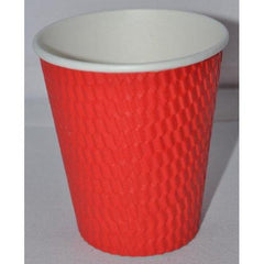 12oz Beta Grip Hot Cups - Red (25 pack)