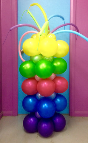 Abstract Balloon Tower
