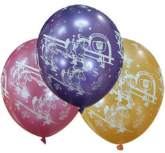 Helium Quality Printed Horse Racing Balloons