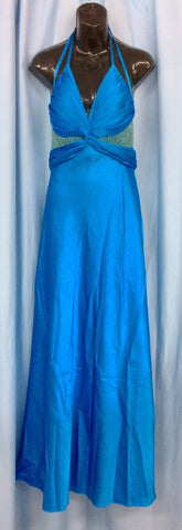 Ball Room Gown - Blue Strap (Hire Only)