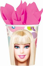 Barbie Paper Cups (8 pack)
