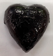 Milk Chocolate Hearts - Black - 500g (60)