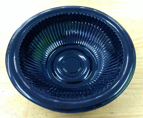 Black Plastic Salad Bowl - Small