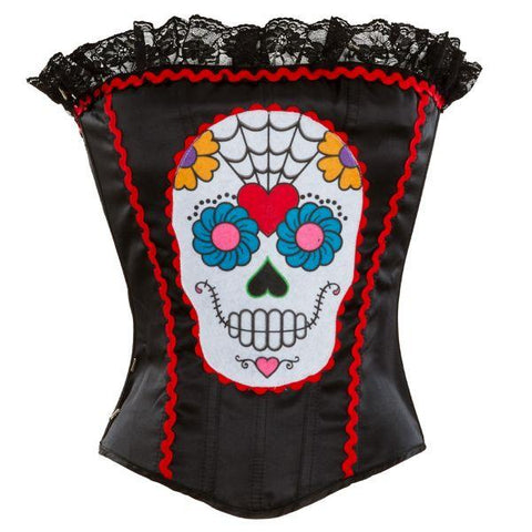 Day of The Dead - Corset (Hire Only)