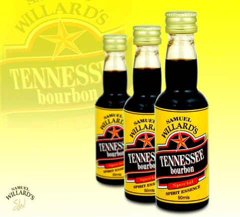 Samuel Willard's Gold Star Tennessee Bourbon Spirit Essence - 50ml