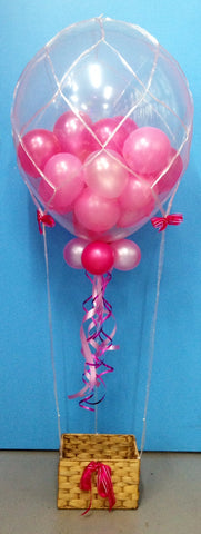 Hot Air Balloon - Pink