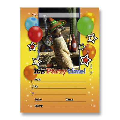 Invitation Packs - Party Animal