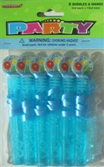 Bubbles & Wands 6 pack - Blue