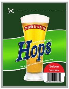 Finishing Hops Morgans Nelson Sauvin - 12g