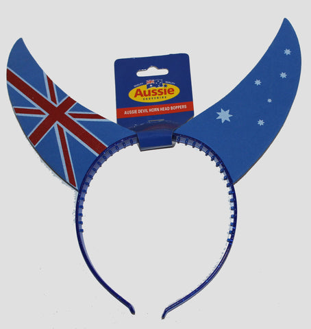 Aussie Devil Horn Head Bopper
