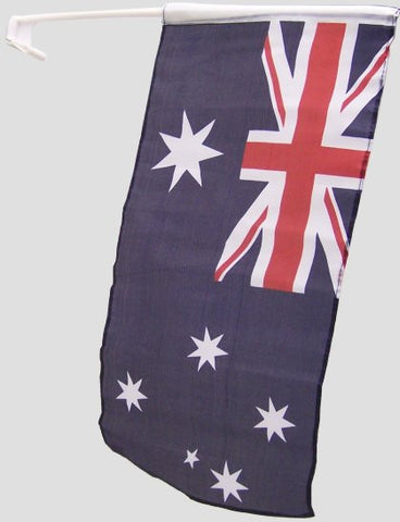 Aussie Car Flags (2 pack)
