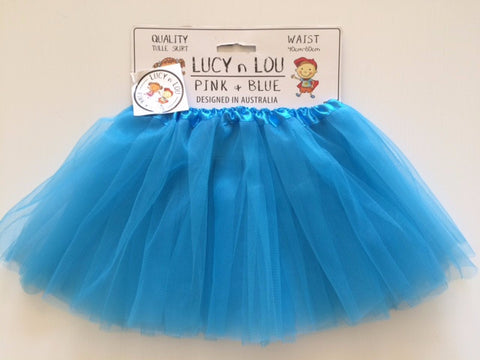 Childrens Tulle Tutu/Skirt - Blue