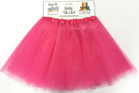 Adult Tulle Tutu/Skirt - Hot Pink