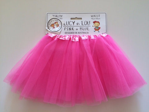 Childrens Tulle Tutu/Skirt - Hot Pink