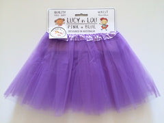 Childrens Tulle Tutu/Skirt - Purple
