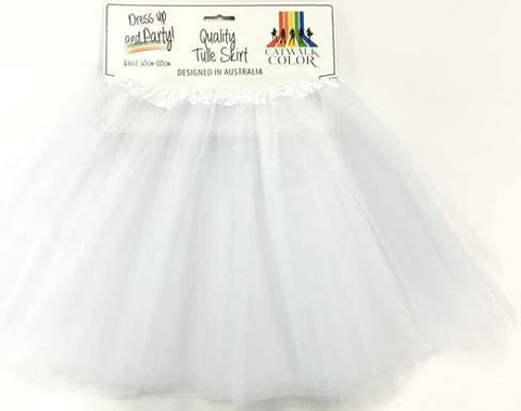Adult Tulle Tutu/Skirt - White