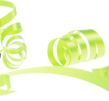 Satin Tear Ribbon - Lime Green