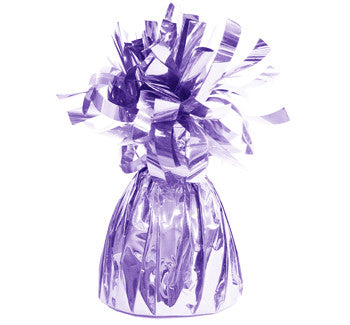 Foil Balloon Weights - Lavender