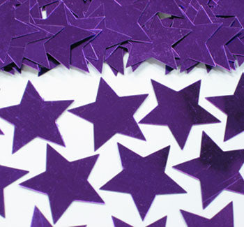 Table Scatters Stars - Purple/30mm