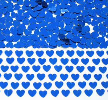 Table Scatters Hearts - Blue/Small