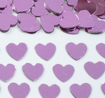 Table Scatters Hearts - Pink/13mm