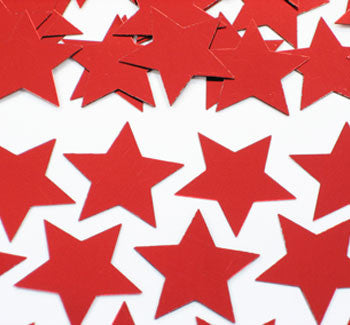 Table Scatters Stars - Red/5mm