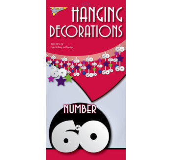 Hanging Decorations 60 (3.65m)