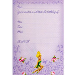Tinkerbell Party Invitations (8 pack)