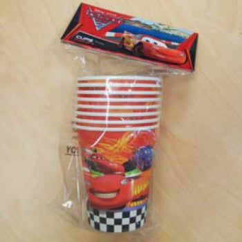 Cars Paper Cups (8 pack)