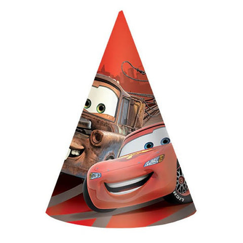 Cars Party Hats (8 pack)