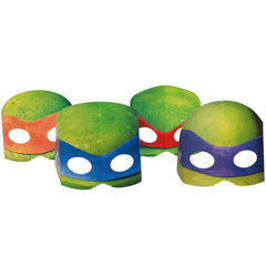 Teenage Mutant Ninja Turtles Masks (8 pack)