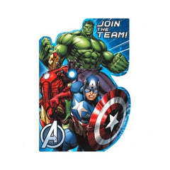 Avengers Party Invitations (8 pack)