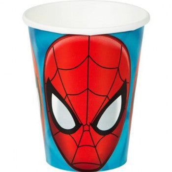 Spider Man Paper Cups (8 pack)