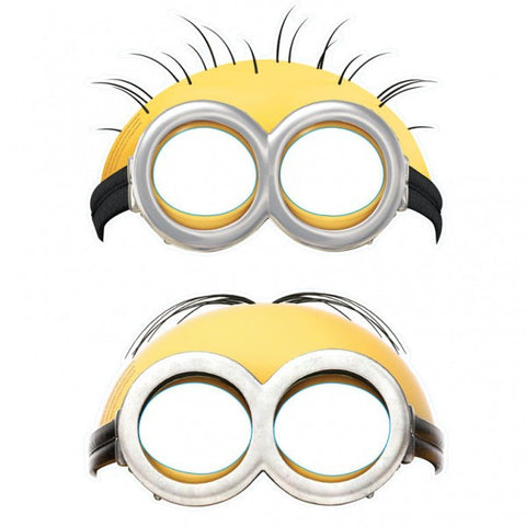Minions Masks (6 pack)