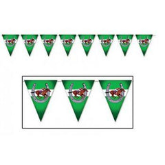 Horse Racing Pennant Banner - 3.66m