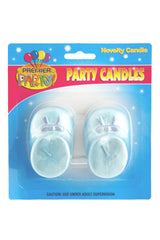 Baby Booties Candle (2 pack) - Blue