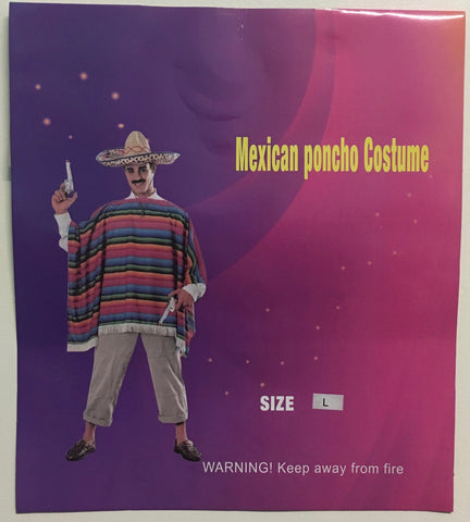 Mexican Poncho - Adult
