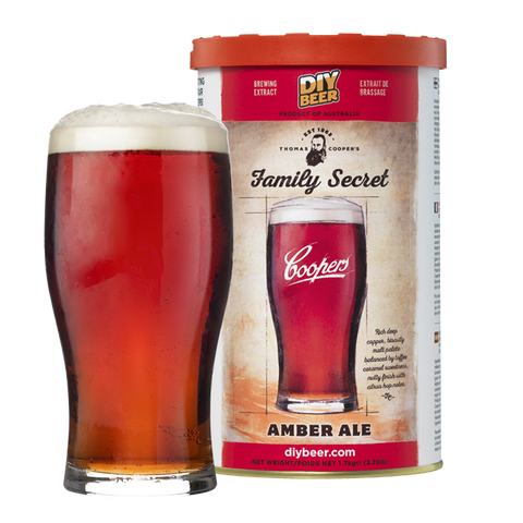 Thomas Coopers Family Secret Amber Ale 1.7KG