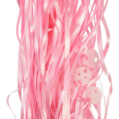 Balloon Ribbons - Light Pink (25 pack)