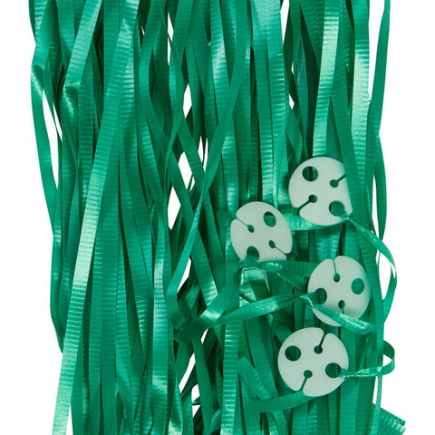 Balloon Ribbons - Green (25 pack)