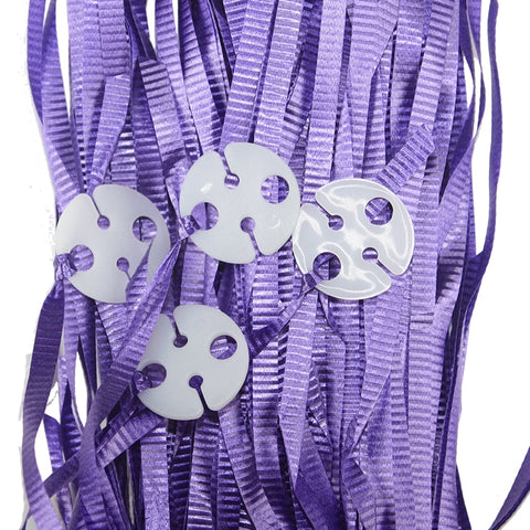 Balloon Ribbons - Purple (25 pack)