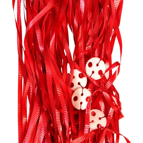 Balloon Ribbons - Red (25 pack)