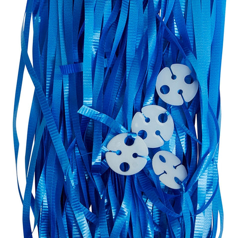 Balloon Ribbons - Blue (25 pack)
