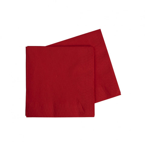 Apple Red Cocktail Napkins (40 pack)