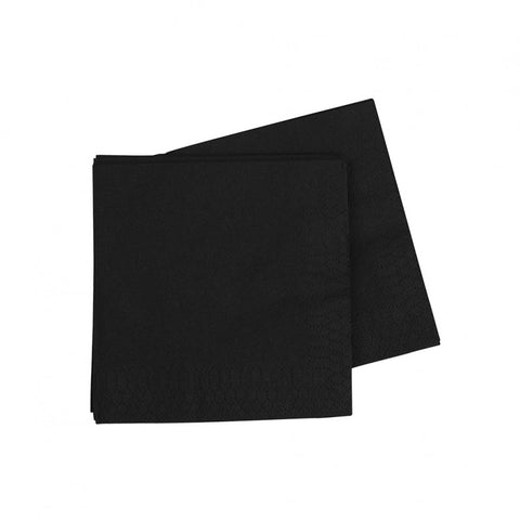 Black Cocktail Napkins (40 pack)