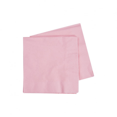 Classic Pink Cocktail Napkins (40 pack)