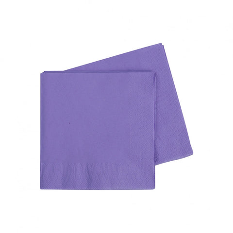 Lilac Cocktail Napkins (40 pack)