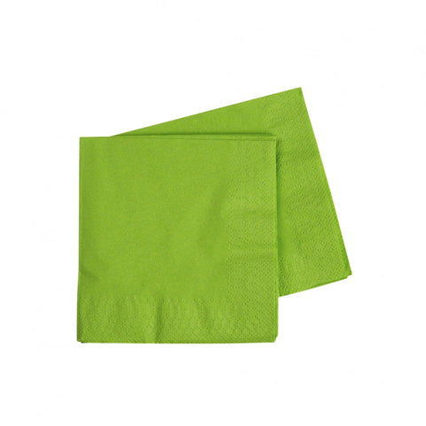 Lime Green Cocktail Napkins (40 pack)